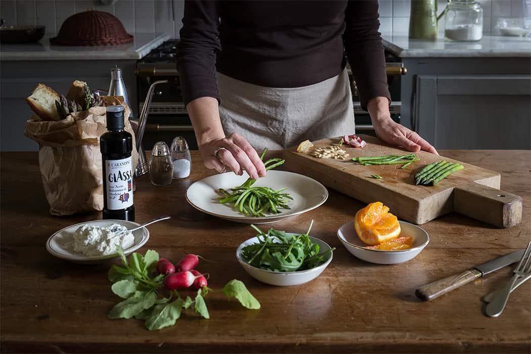 ricetta insalata primavera