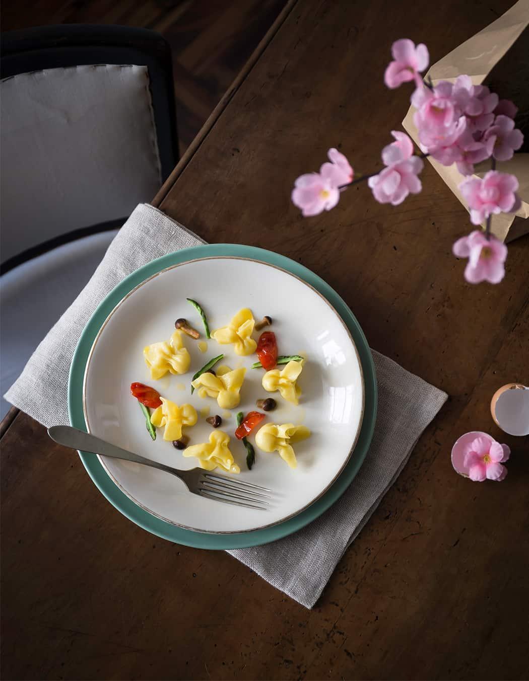 ricetta tortelli con tartufo