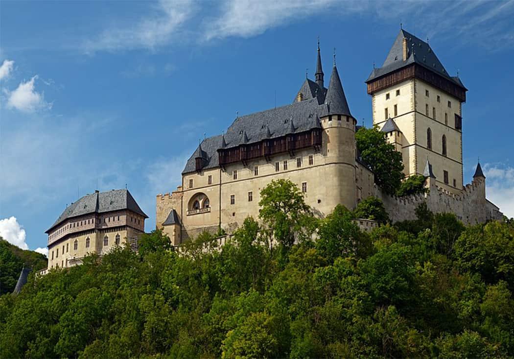 Ceský Krumlov il castello