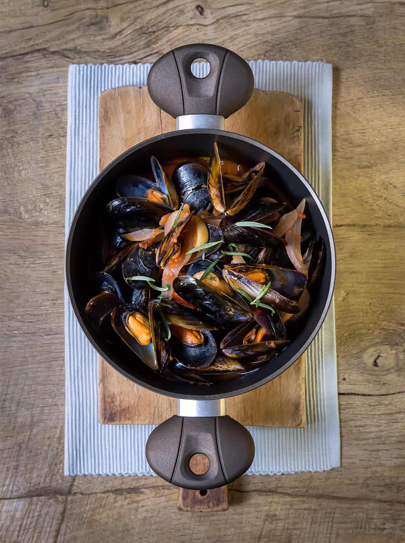 ricette zuppa di cozze di Sonia Paladini