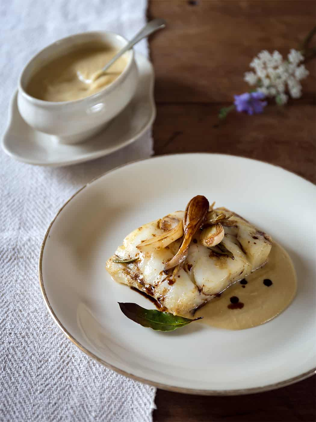 ricette con baccalà all'aceto balsamico di Modena