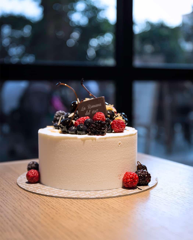 Biancaneve torta gelato