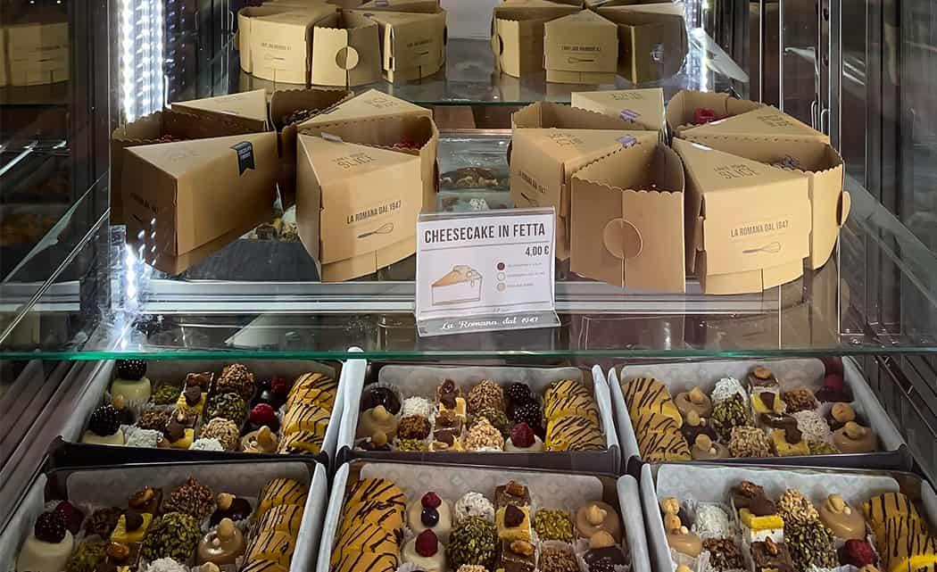 pasticceria gelateria La Romana Parma