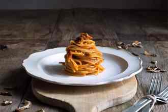 ricette spaghetti con funghi porcini secchi