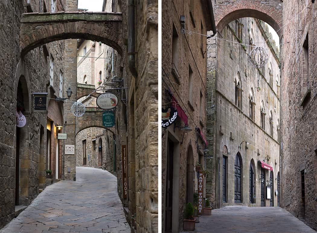 centro storico Volterra