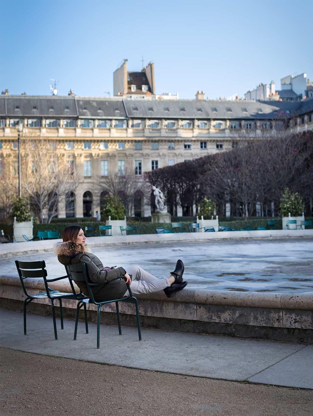 il Jardin du Palais-Royal a Parigi