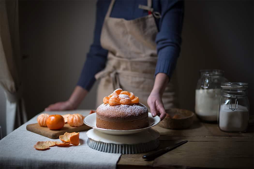 ricette torte soffici con mandarini