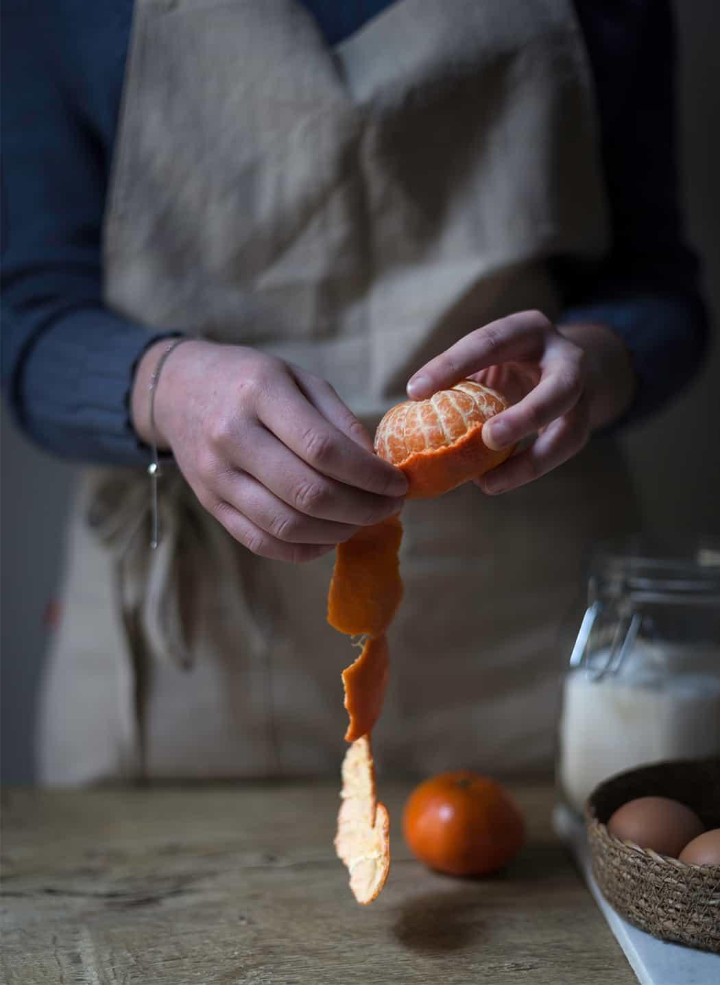 ricetta con mandarini