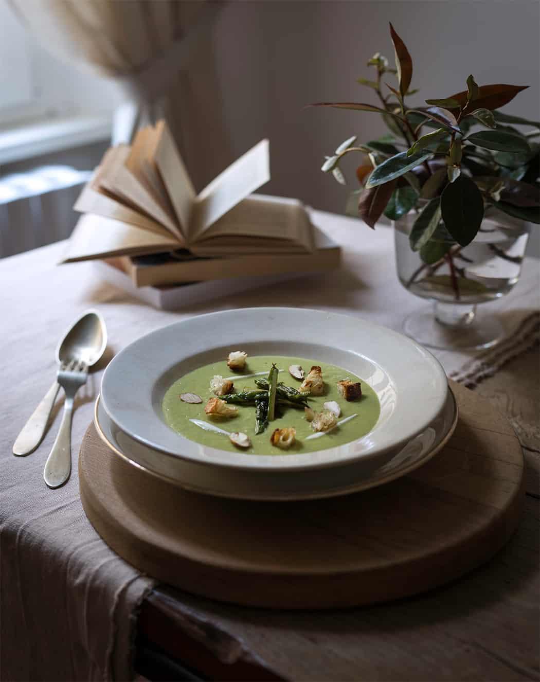 ricetta vellutata di asparagi