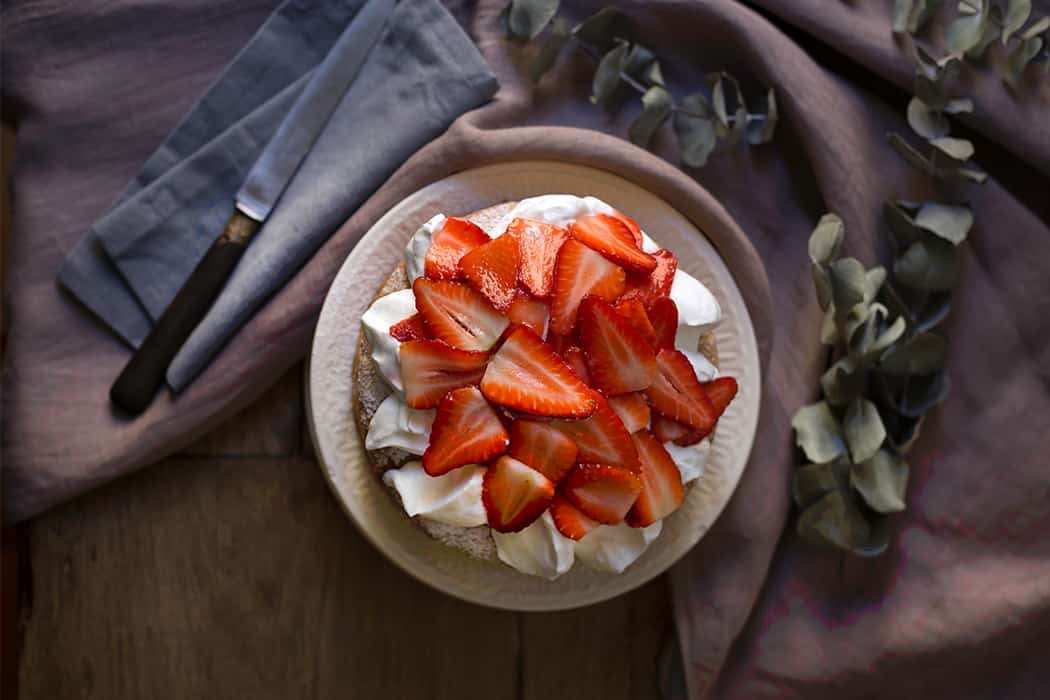 ricette torta soffice alle fragole