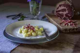 ricette gnocchi con coppa di Parma