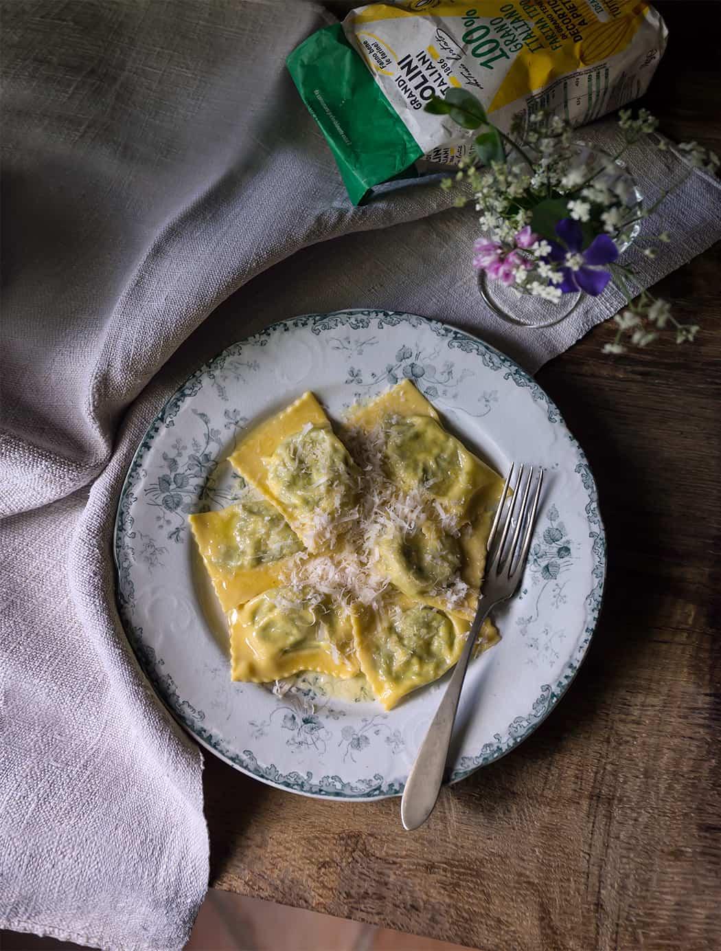 ricette tortelli farina grandi molini