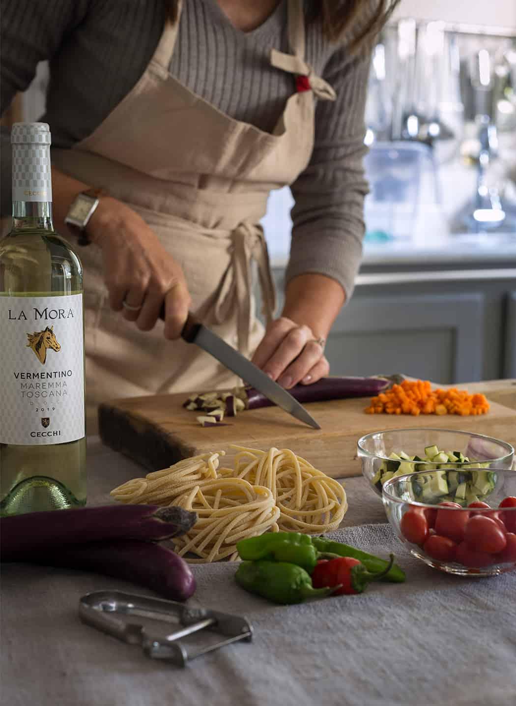 vino Vermentino bianco toscano