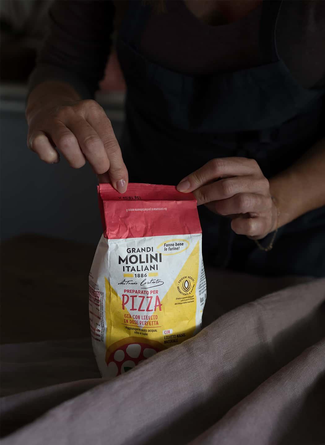 farina Grandi Molini per pizza