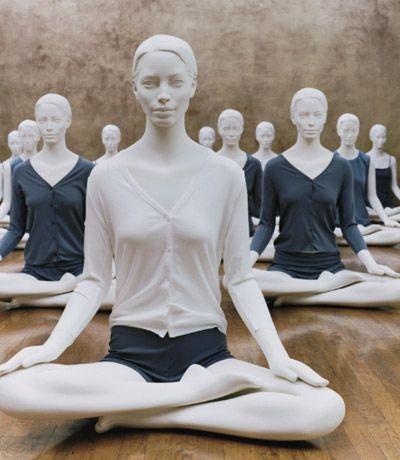 yoga e pubblicità