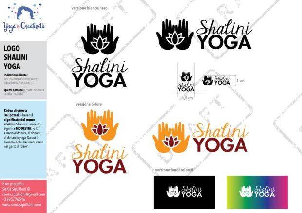 logo per il tuo centro yoga
