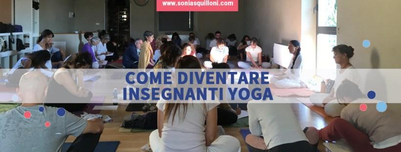 diventare insegnanti yoga