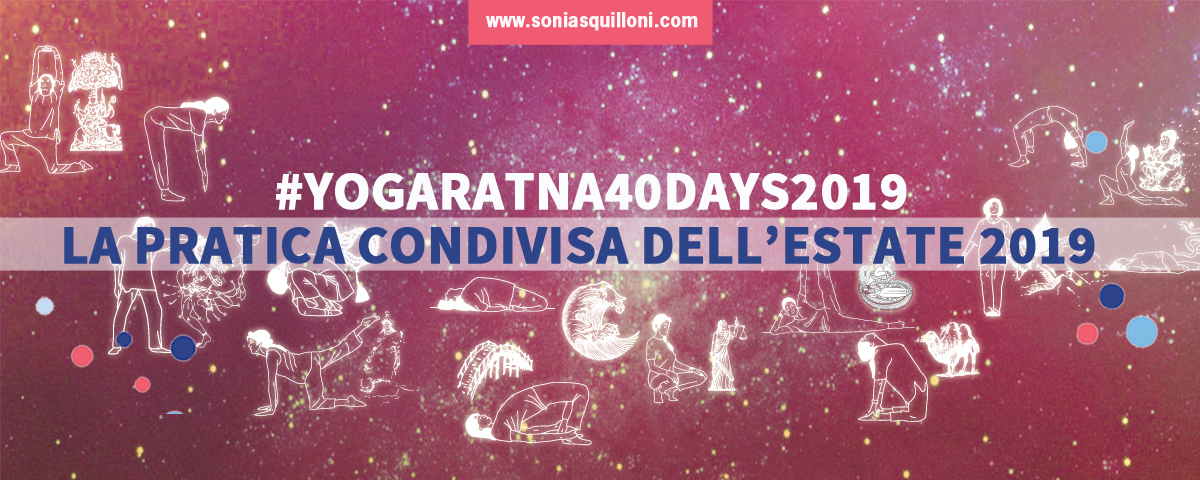 #yogaratna40days2019 la tua pratica yoga dell'estate