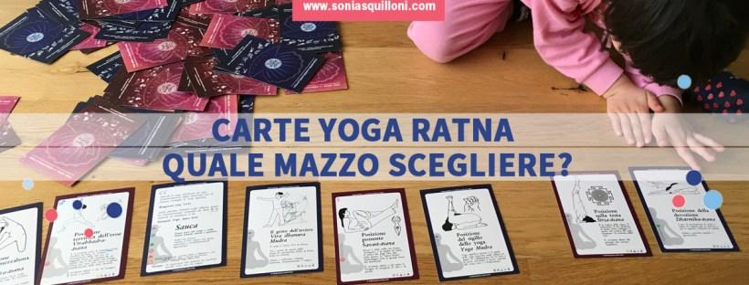 carte yoga ratna quale mazzo