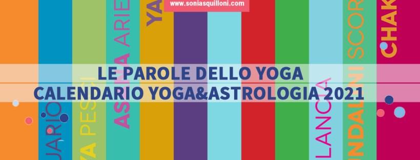 Calendario Yoga&Astrologia 2021