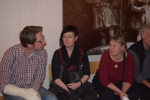 Our amazing teachers, Olov Johansson, Ditte Andersson, and Sonia Sahlström.