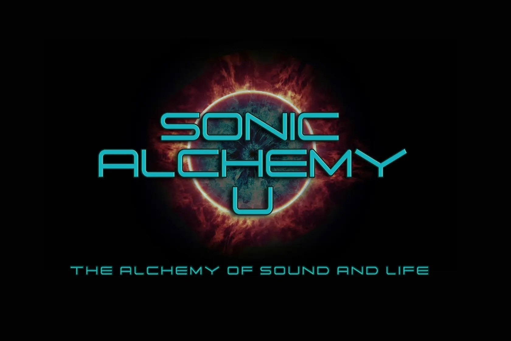 online piano lessons, online music lessons, Sonic Alchemy U main logo