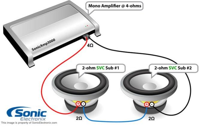 diagram 4 ohm subwoofer wiring diagram mono svc 2 full