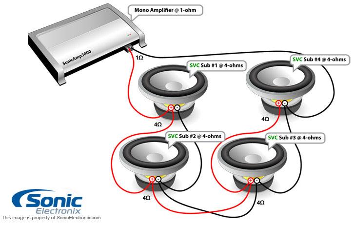 2 Ohm Wiring Diagram. Wiring. Wiring Diagram Instructions