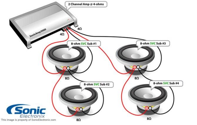 hx2 dual 2 ohm subwoofer wiring diagram  superwinch sc9000