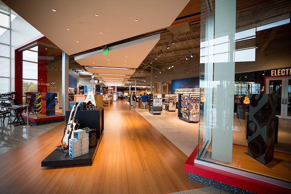 Sweetwater Has Expanded Its Headquarters Amp Showroom Store