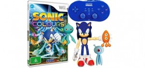 Sonic Colours Australian Wii Kit