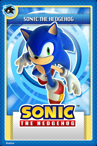 Sonic The Hedgehog Digital Trading Cards Launched The