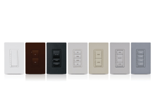 7 Different Crestron Light Switches & Dimmer Switches in Various Colours & Configurations. Available in Sonic Systems Toronto & Vancouver Stores