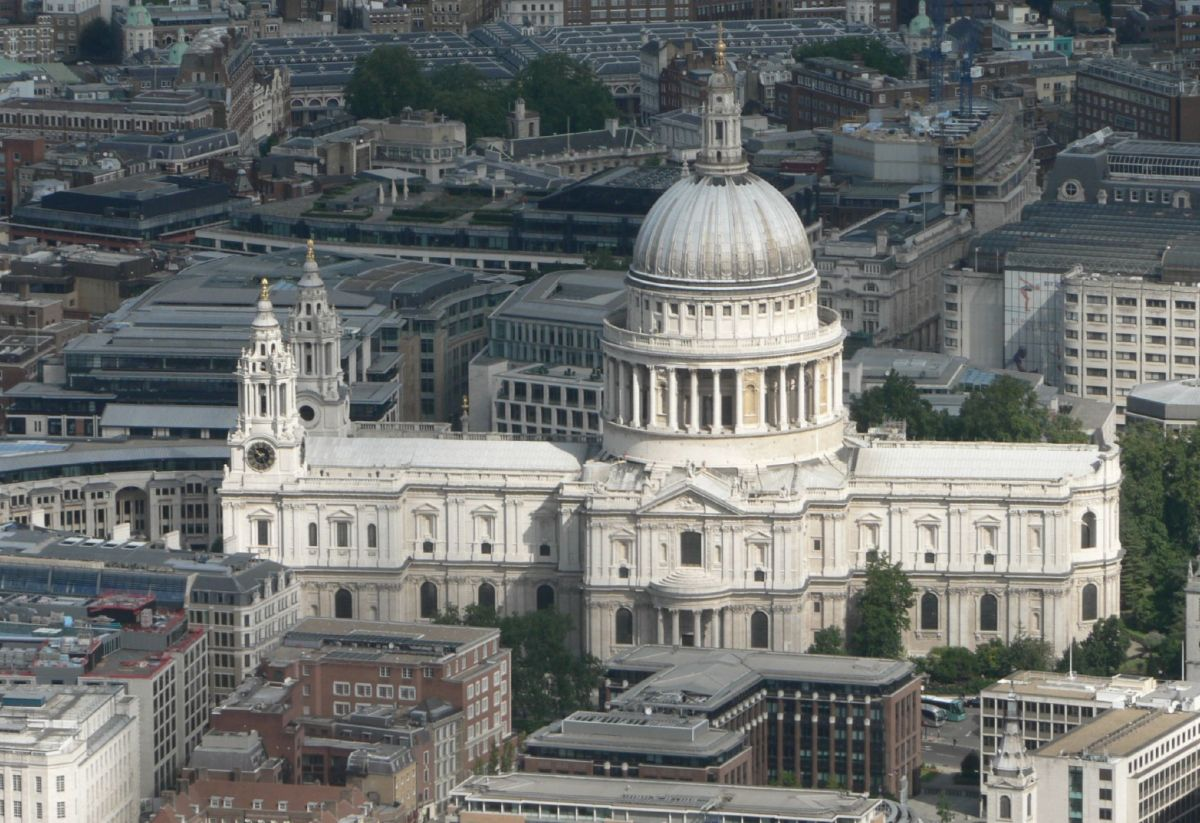 Whispering Gallery, St Paul`s Cathedral