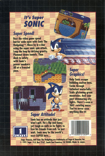 Zone 0 Gt Sonic 1 Gt Background Information