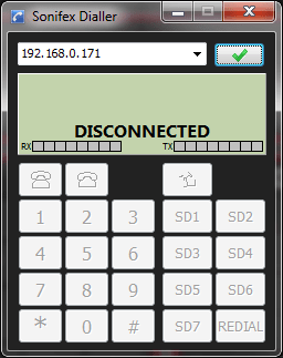 Dialler Disconnected