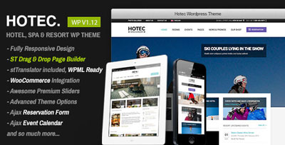 hotec responsive hotel spa resort wp theme
