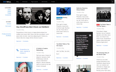 Wallpress Awesome Responsive WordPress Theme