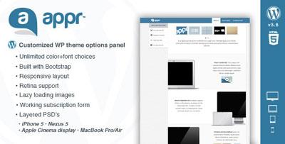 Appr -One Page WordPress Theme