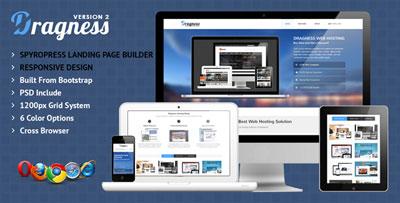 Dragness Premium WordPress Landing Page