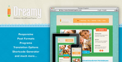 Dreamy Kids Education Theme