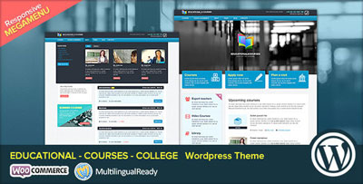 EDU Education WordPress Theme