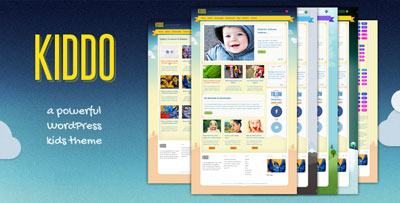 Kiddo Kids WordPress Theme