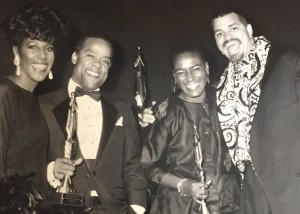 Sonja Williams CEBA Awardee with Sinbad and other awardees