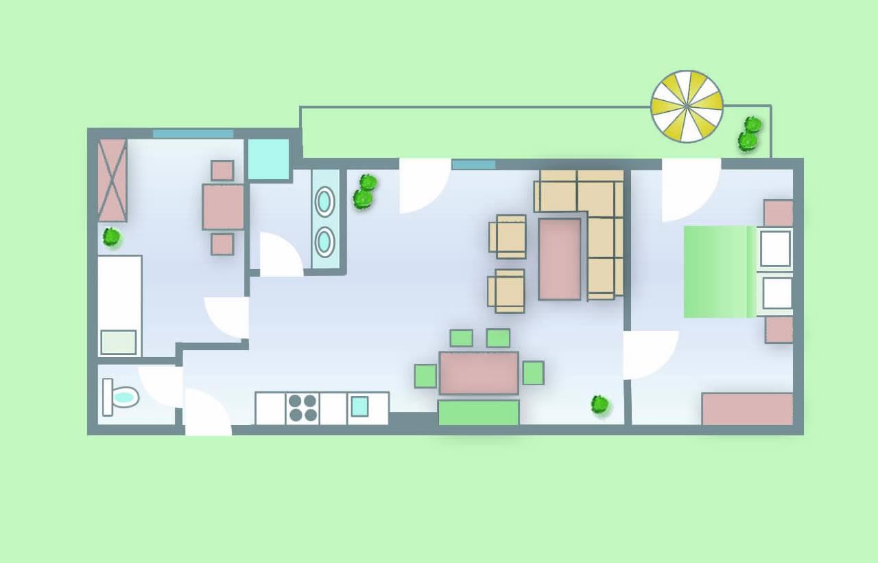 Appartements Ferienwohnungen Ferienanlage Sonnberg Flachau