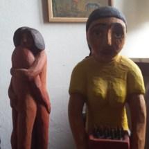 Figuren aus Holz