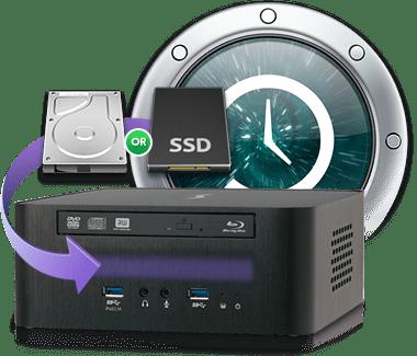 Echo 15 Thunderbolt Dock Time Machine Backup