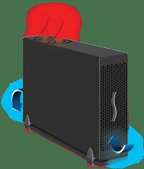 Echo Express III-D Airflow
