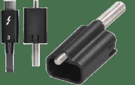 Thunderbolt 3 Cable and ThunderLok 3