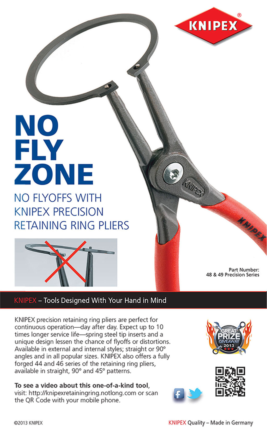 KNIPEX — No Fly Zone